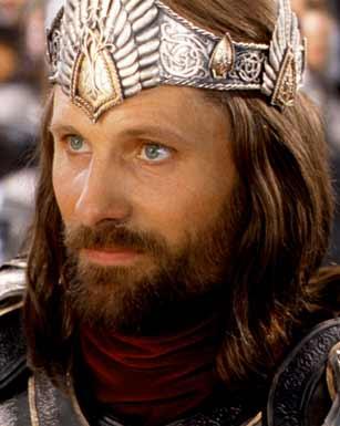 Aragorn, o rei que trará paz e prosperidade à Terra-média